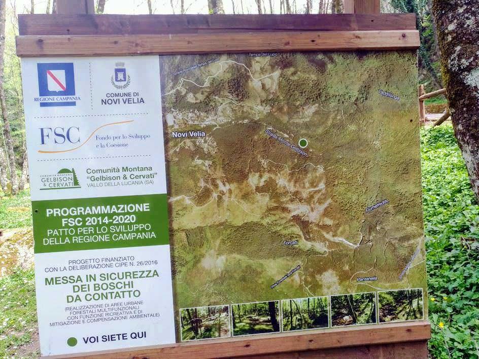 Monte Gelbison e Vallo della Lucania