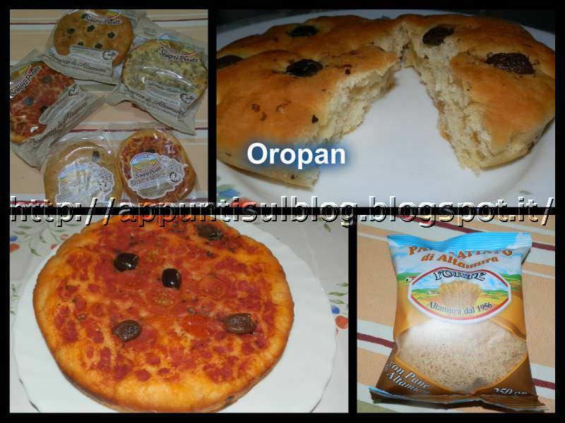 Oropan, pizza e pangrattato