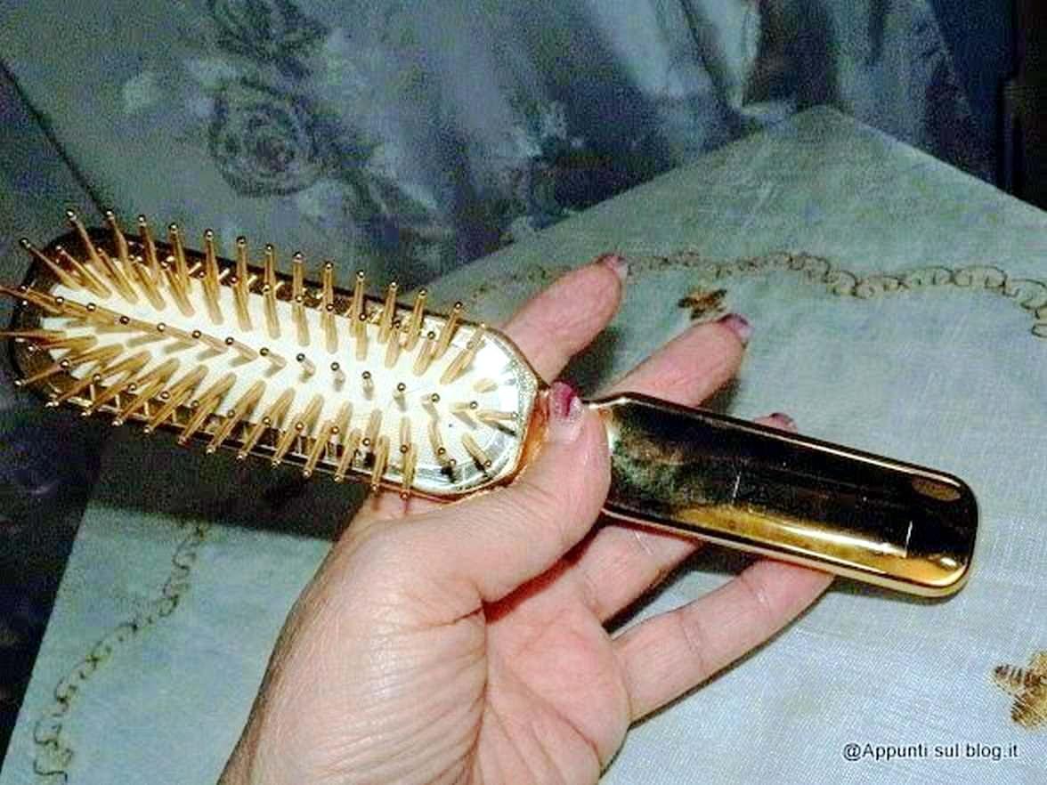 Janeke 1830 spazzole Superbrush per capelli al top
