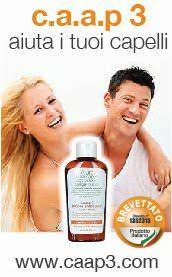 caap3 shampoo anticaduta coadiuvante contro la caduta dei capelli