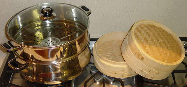 Cottura a vapore per antichi sapori a tavola