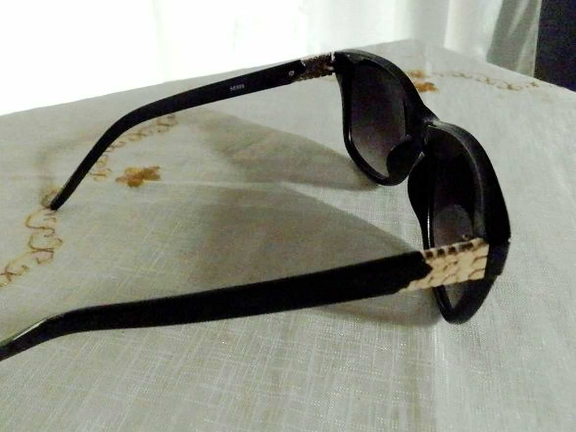 Amiclubwear: Black Over-Sized Tint High Quality Plastic Sunglasses Shades