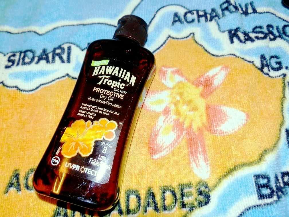 Hawaiian Tropic: solari per gli effetti indesiderati sulla pelle