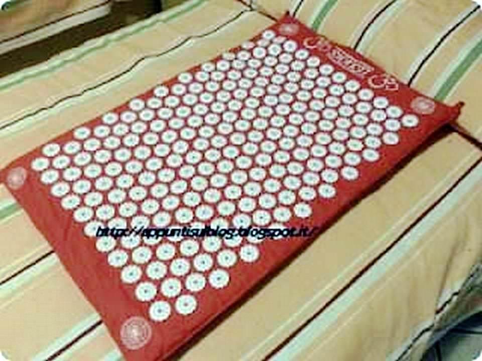 tappetino per agopressione shakti mat rigenera il corpo e la mente