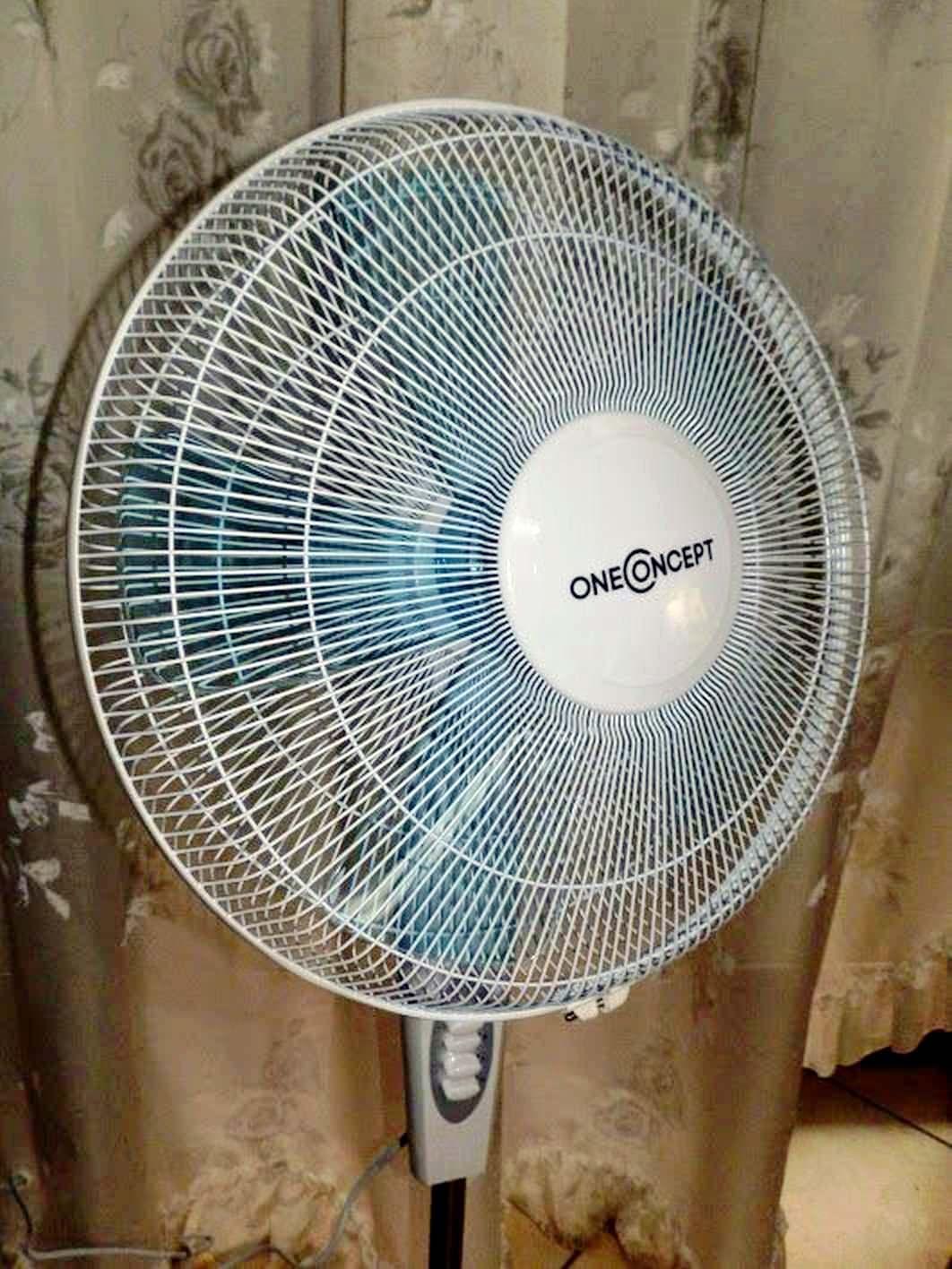 OneConcept White Blizzard 2G ventilatore a piantana 4 articoli per la casa