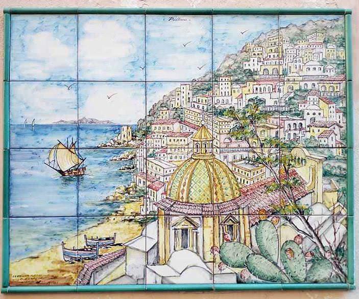 Vietri sul Mare tra faenzere e  terme romane