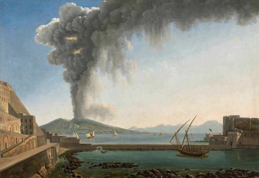 Eruzione Vesuvio 79 dC a Ercolano e Pompei