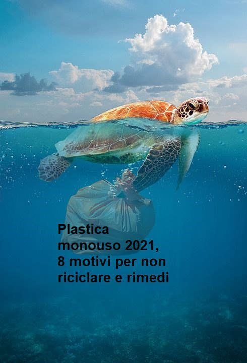Prodotti in plastica monouso 2021, 8 motivi per non riciclare e rimedi
