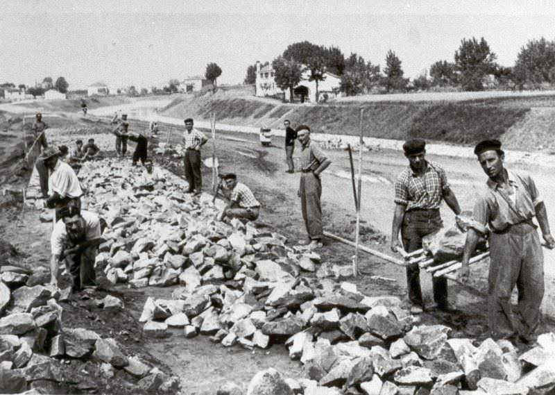 Alluvione ad Adria nella valle del Po il 12 Novembre 1951