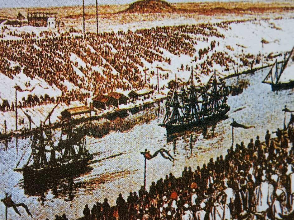 Mezzi di trasporto nel 1848 con Julies Verne e Fogg