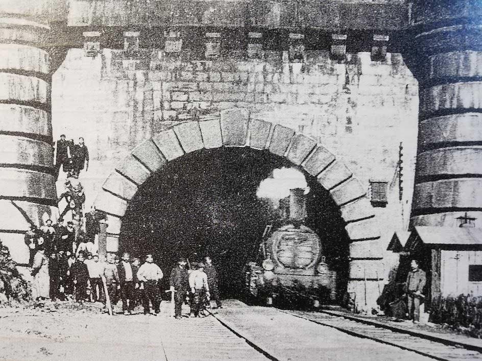 traforo del frejus nel 1871