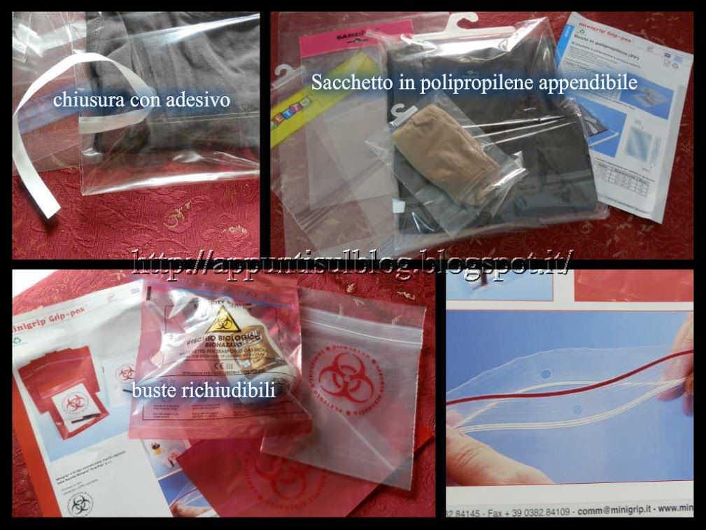 Minigrip Pak: buste per imballaggi innovativi