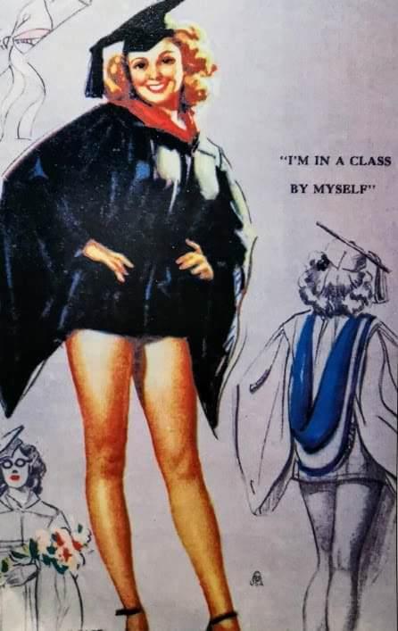 Cartoline d'epoca, donne e stili che cambiano