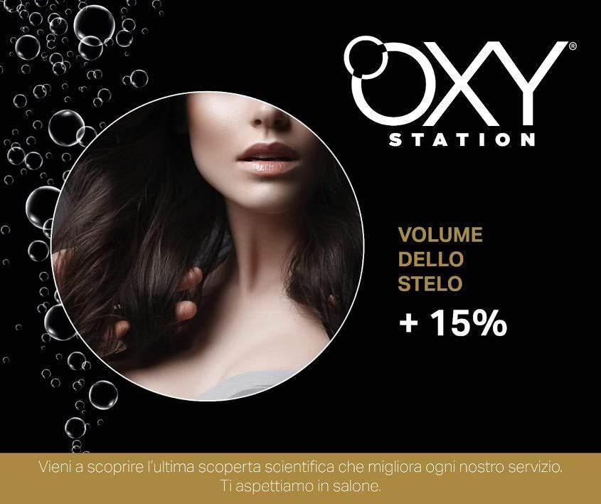 Oxy Station, ossigenoterapia per capelli sani e luminosi