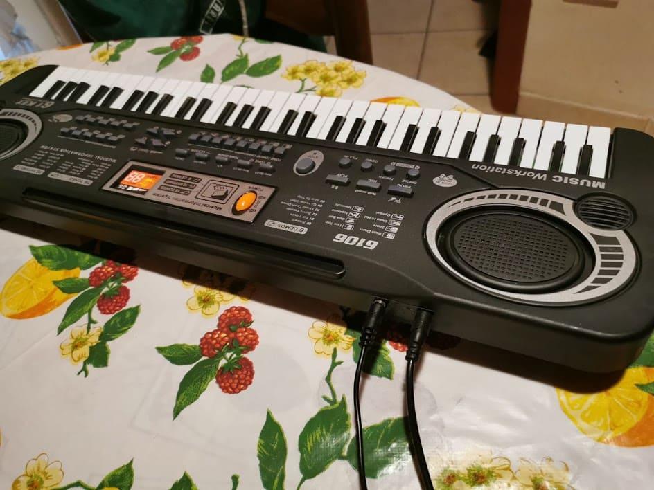Tastiera Pianoforte per Bambini TWFRIC 61 tasti 1 musica