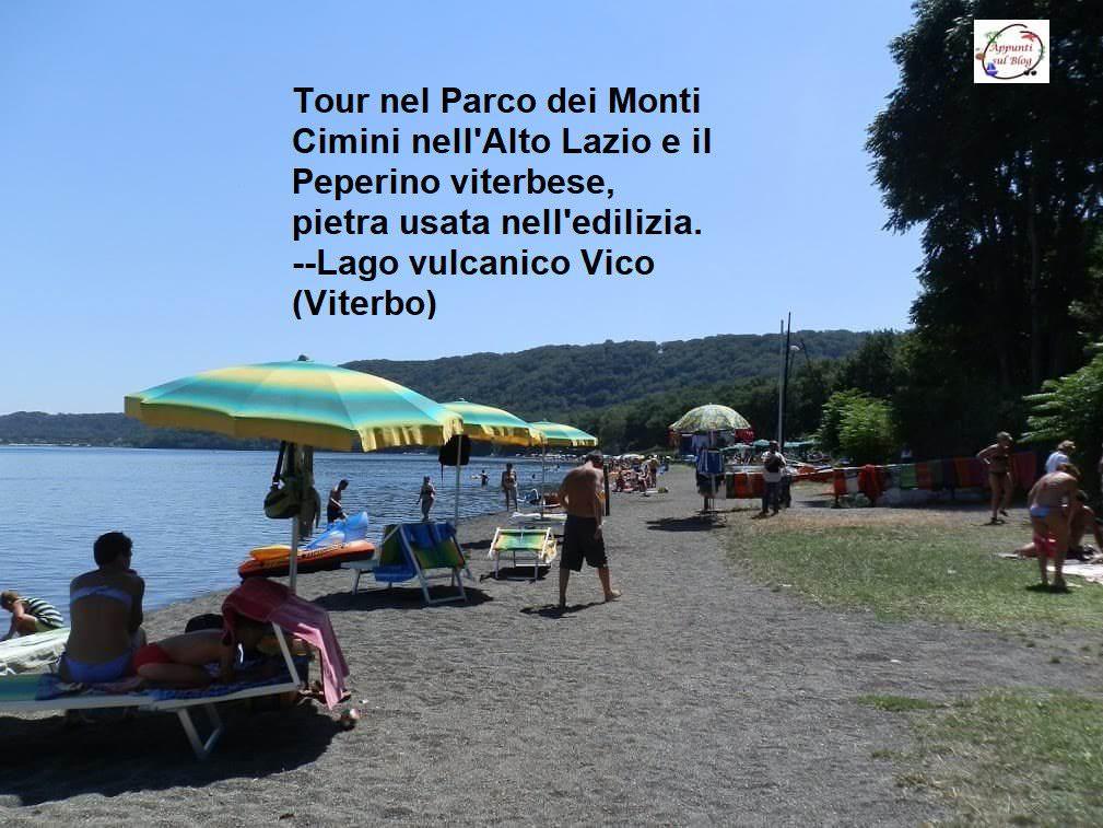 Parco dei Monti Cimini e il peperino nell'Alto Lazio