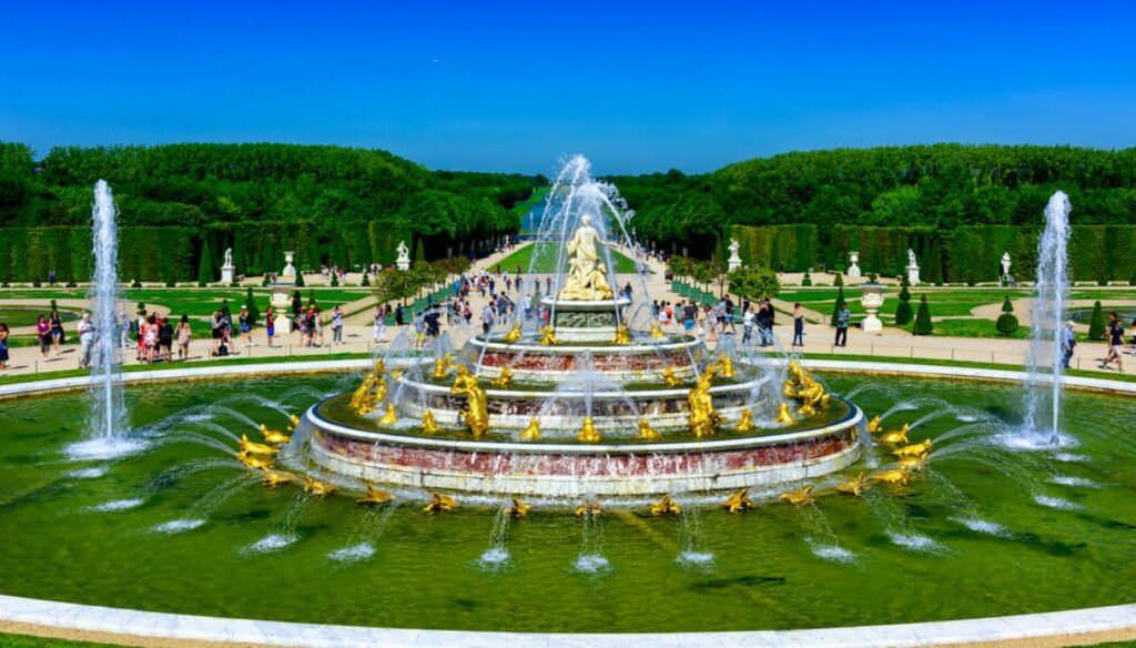 giardini di versailles fontana