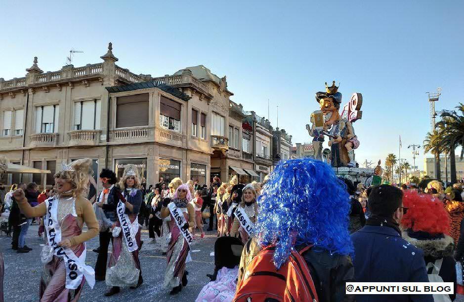 Trucco, carri e sfilata al Carnevale di Viareggio 2019 3 Carnevale 2019