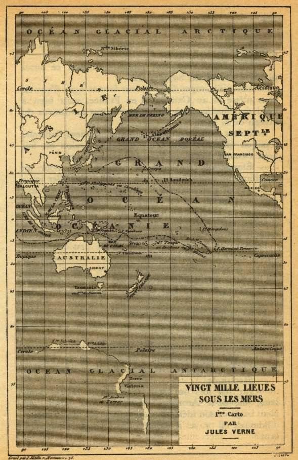 Verne e 20.000 leghe sotto i mari