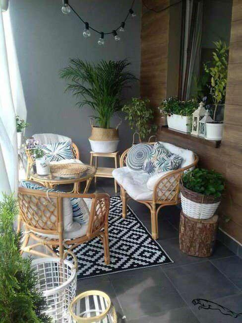 balcone piccolo oasi di relax come arredarlo