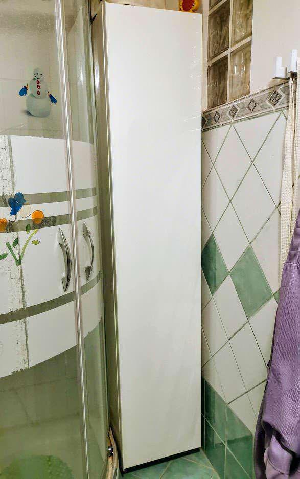 8 Mobili da bagno pensili per piccoli bagni moderni 1 armadio pensile bagno