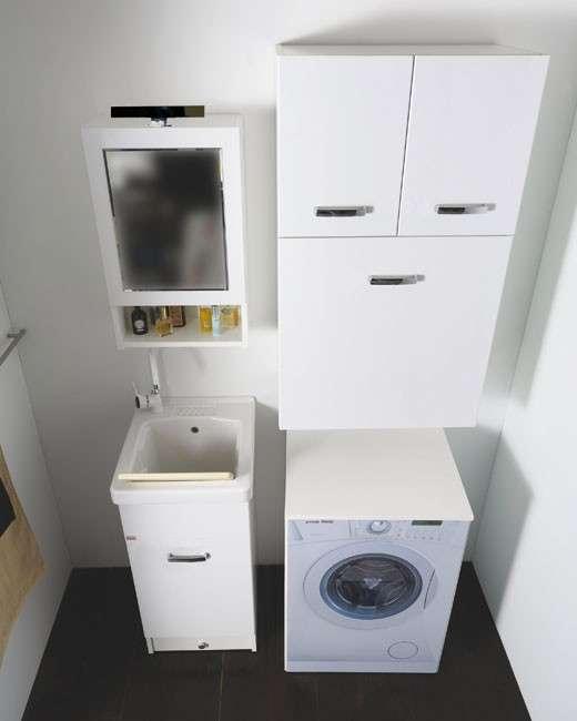 Mobili da bagno pensili per piccoli bagni moderni 3