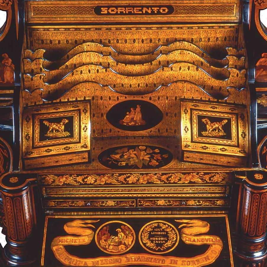 Museo Bottega della Tarsia Lignea Sorrento e tecnica dell'intarsio