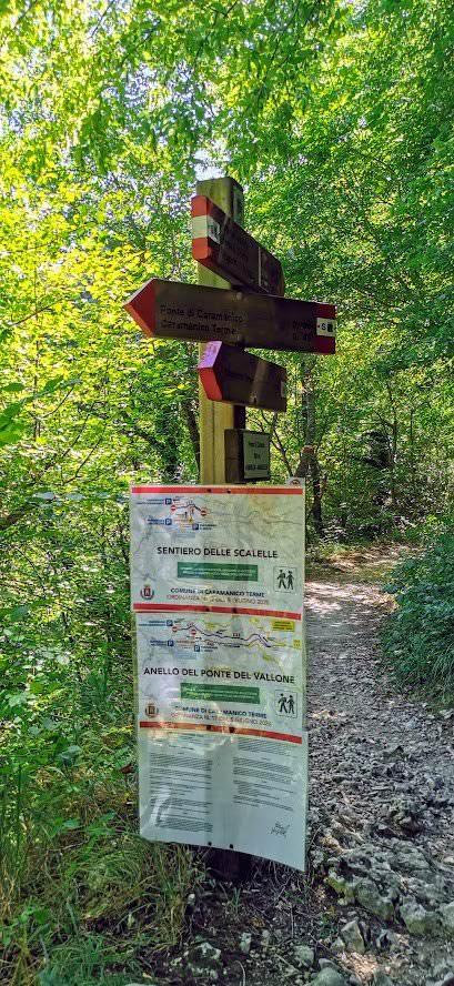 Valle dell'Orfento Caramanico escursioni ad anello