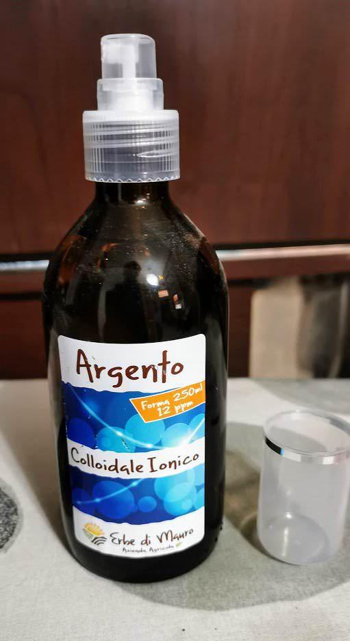 10 benefici dell'Argento colloidale ionico