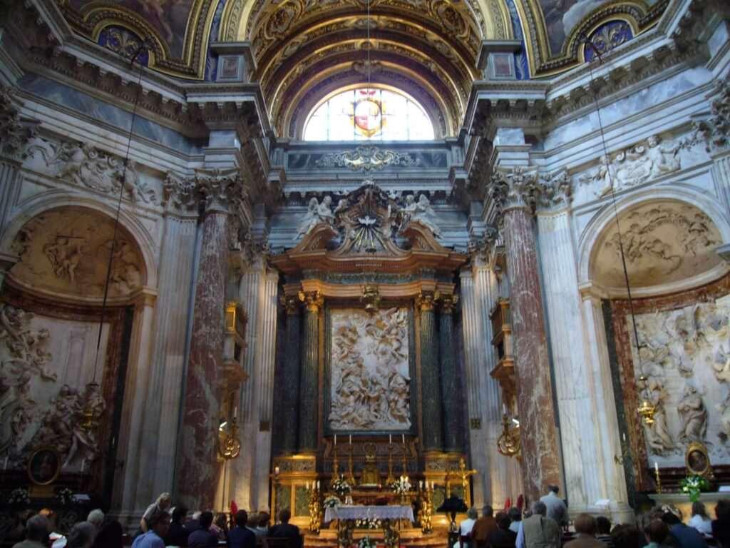Sant'Agnese in Agone in stile barocco a Roma