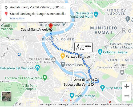 Roma: passeggiando lungo il Tevere per 3 km