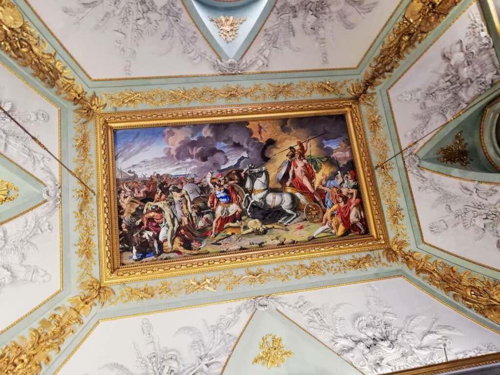 dipinto soffitto