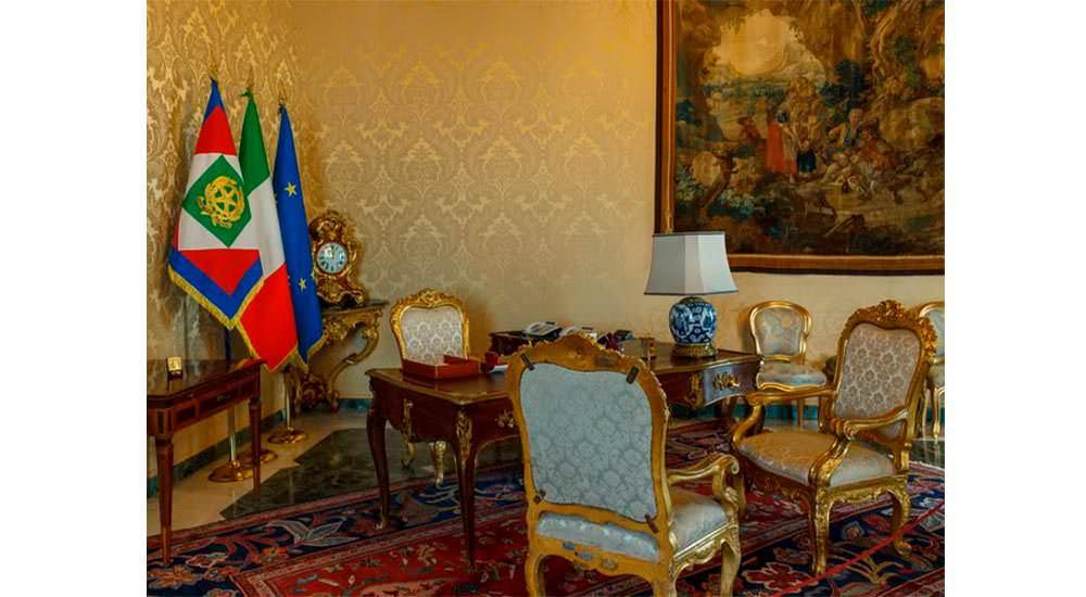 sala presidenziale
