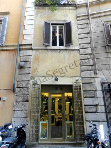 Via del Governo Vecchio a Roma negozi vintage