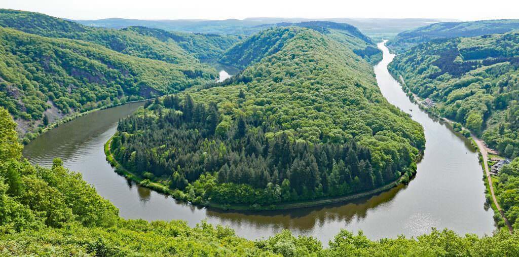 Come si chiama il paesaggio del fiume