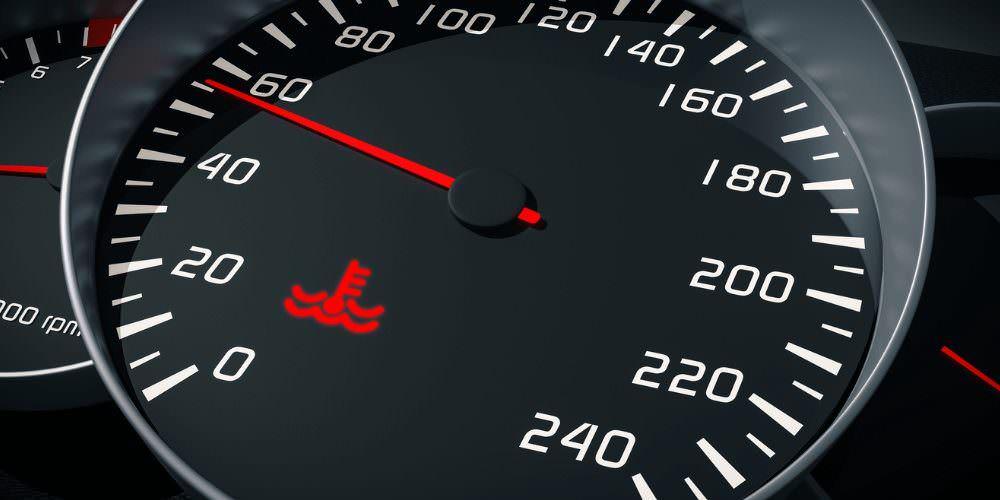 indicatore della temperatura del motore