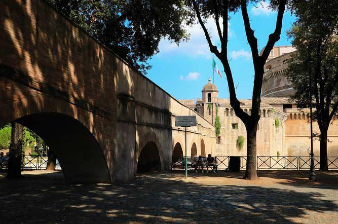 Castel Sant'Angelo dove si posò un Angelo, Roma