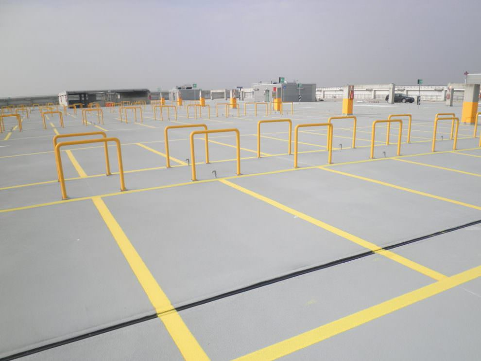 Poliurea, impermeabilizzazione a spruzzo dei parcheggi
