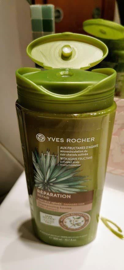 Come utilizzare lo shampoo per capelli secchi, shampoo crema Yves Rocher