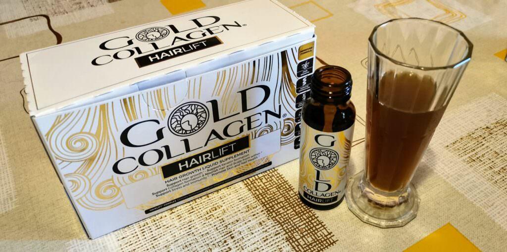 Gold collagen Hairlift per capelli sani
