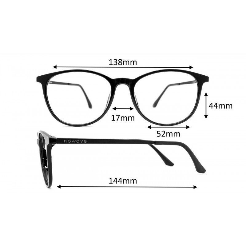 Nowave occhiali luce blu per occhi sani