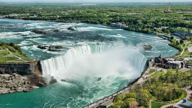Origine delle cascate, tipi nel mondo