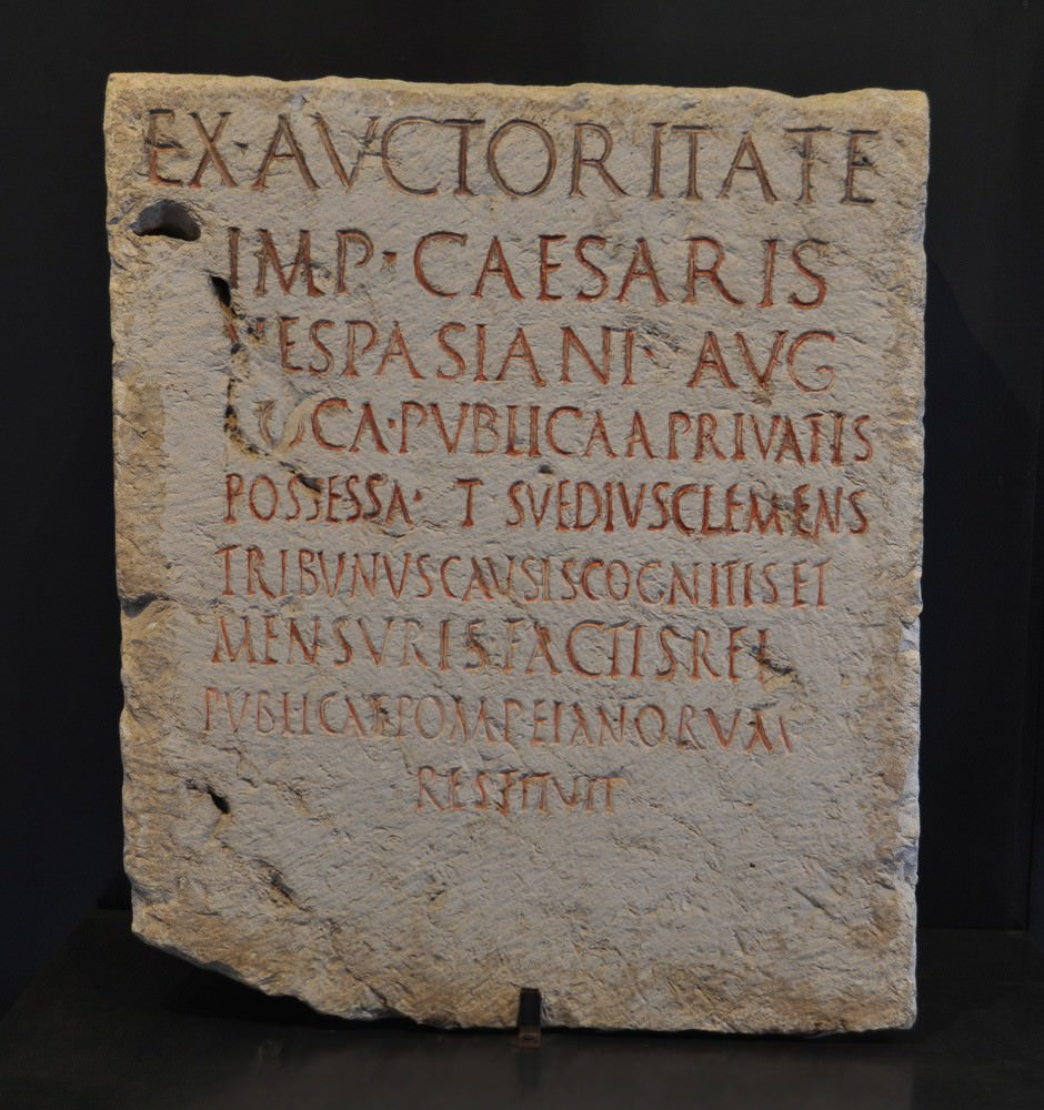 Pompei scavi scoperta di 5 rari reperti